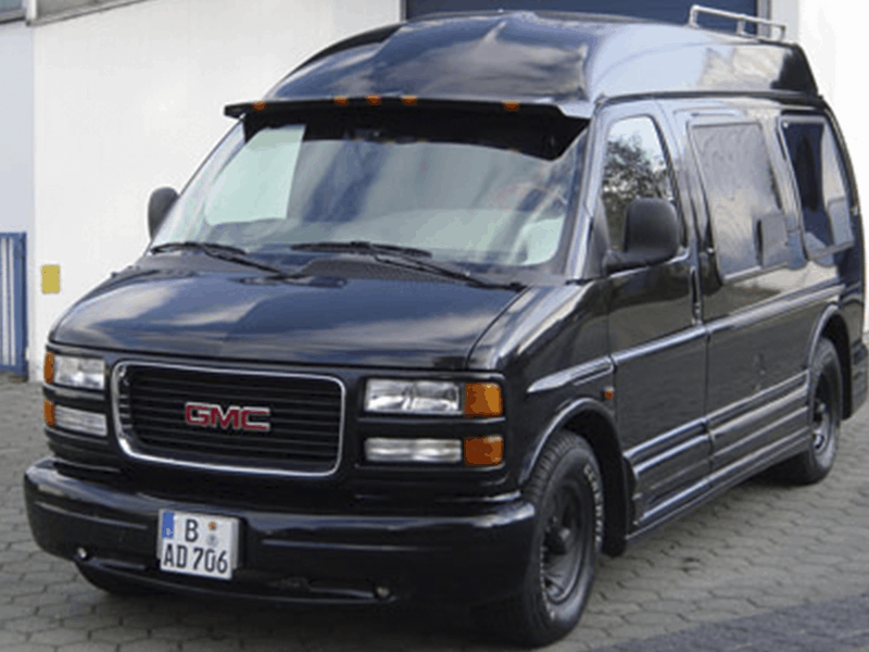 GMC Van Car-HiFi Einbaubeispiel von Finsterwalder Elektronik