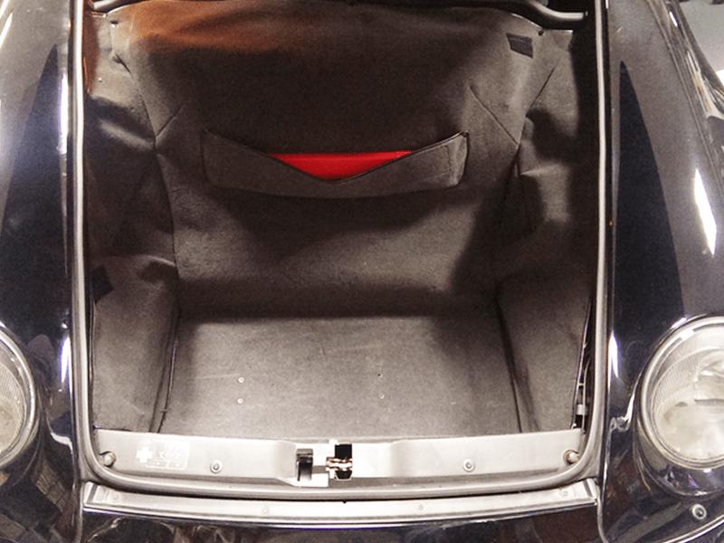 Auto HiFi Einbaubeispiel im Porsche Cabrio 964
