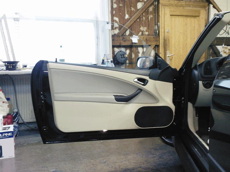 Auto HiFi Einbaubeispiel im Saab 93 Cabrio
