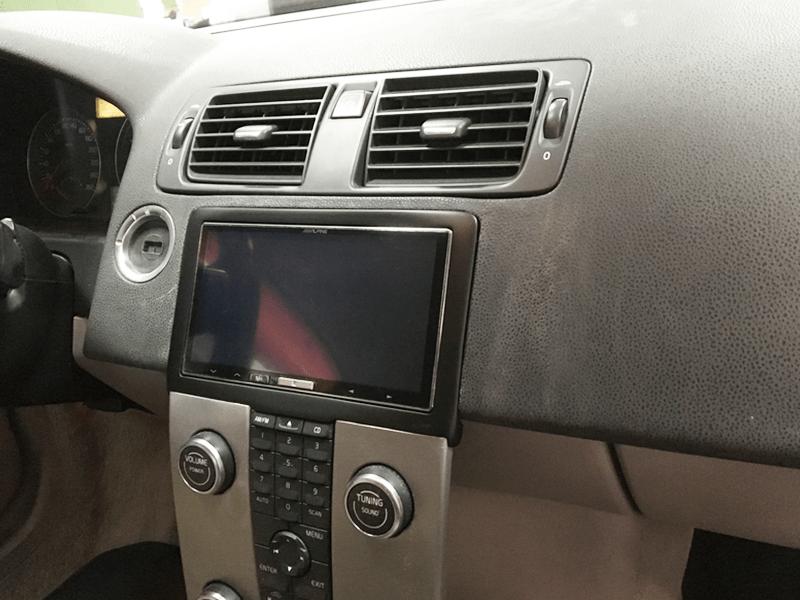 Auto HiFi Einbaubeispiel im Volvo C70