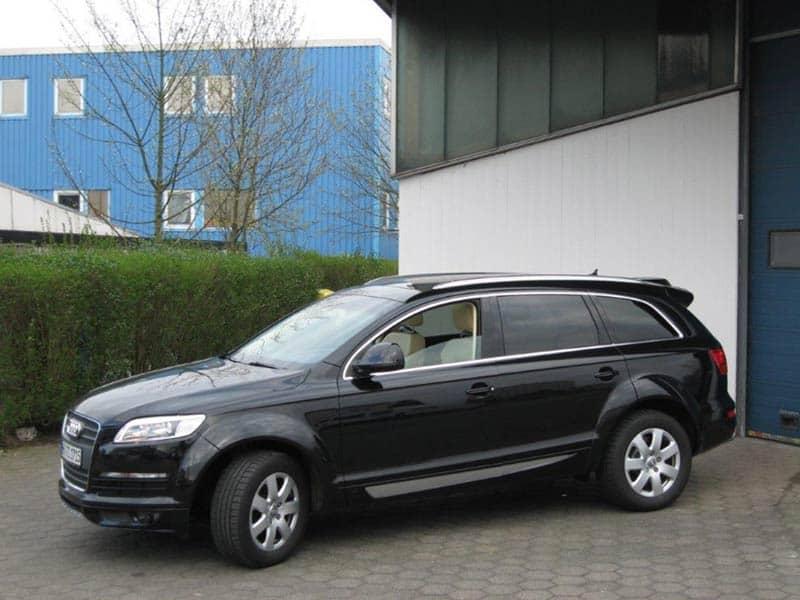 Audi Q7 Car-HiFi Autoradio Einbaubeispiel