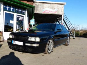 Car Hifi Einbaubeispiel Autoradio Audi Coupe