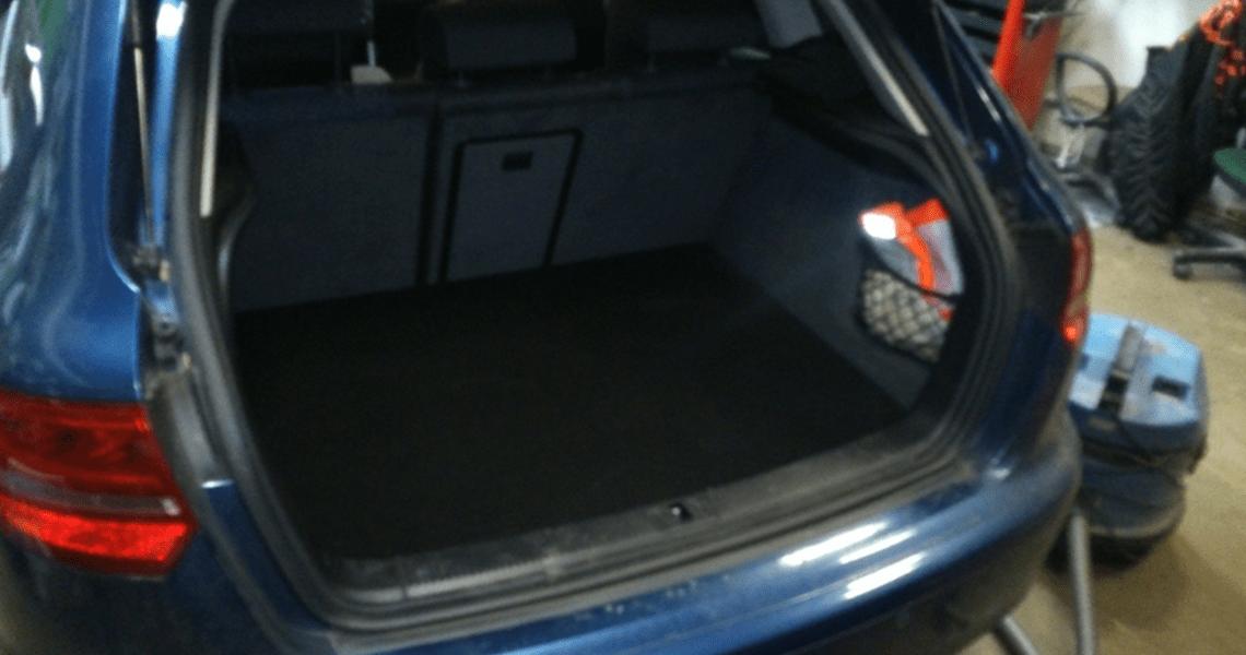 Ampire HiFi Einbaubeispiel im Audi A3